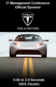 Official Sponsor of the IT Management Conference: Tesla Motors