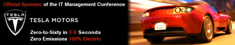 Tesla Motors is an Official Sponsor of the IT Management Conference
